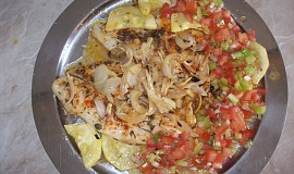 Pečený Pangasius s čerstvou salsou
