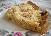 Rebarborový koláč se strouhankou