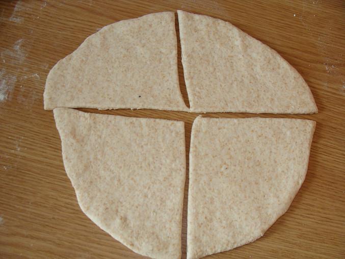 Kruh na 4 díly