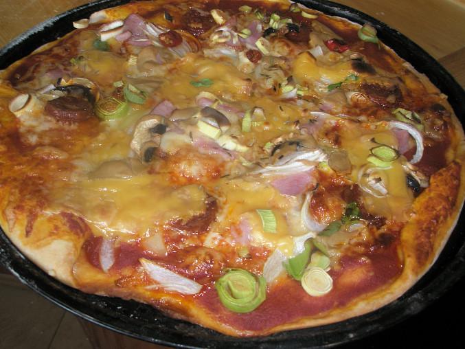 pikantná pizza