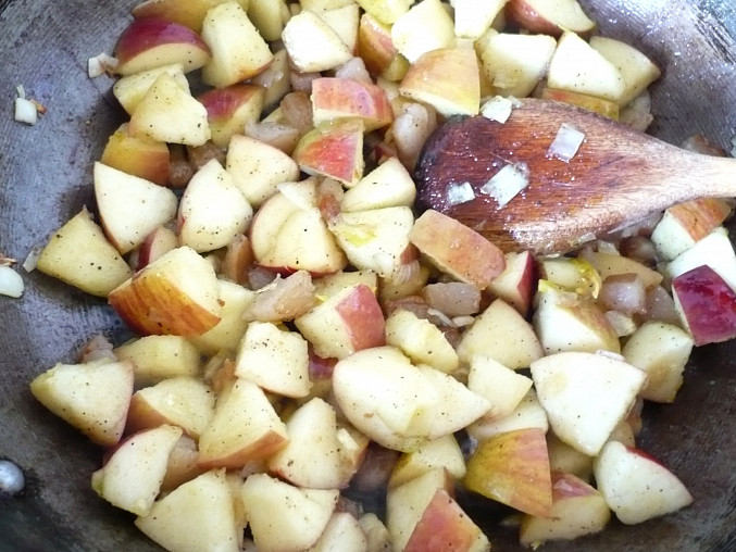 Podusíme jablká