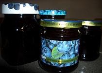 Borůvkový džem z DP