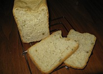 Chléb s olivami a oreganem