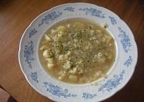 Dietní květáková polévka
