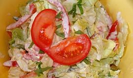 Hlávkový salát míchaný