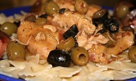 Krůtí prsa v olivách
