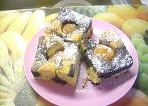 Meruňkový koláč s mákem