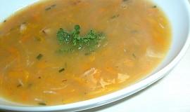 Mrkvovo-česneková polévka