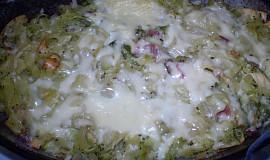 Nudle s ragú z brokolice