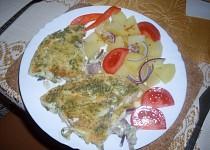 Pangasius pod vajíčkem