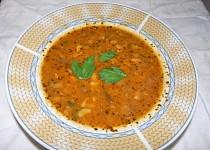 Polévka z růžovek (masáků)