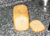 Pórkový chlebík se sýrem Cottage