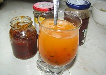 Rakytníkový 3 v 1 (džem, džus a  čaj)