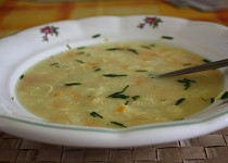 Rychlá polévka se sýrem