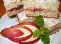 Rychlý  jablkový  koláč