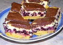 Tvarohový koláč z dvojího těsta