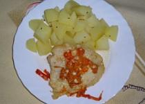 Zapečené filety z Pangasia se zeleninou