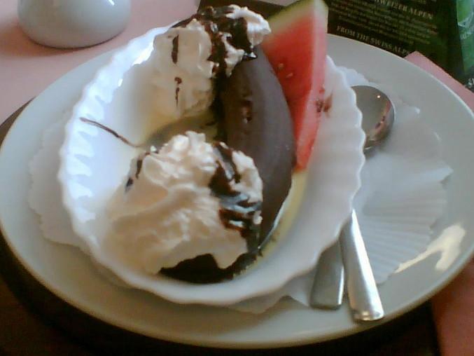Banán v čokoládě