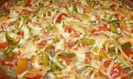 Bramboráková pizza