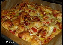"""Chlebíková """"pizza"""""""