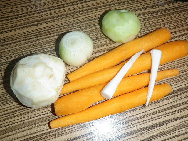 zeleninka kt. som použila je z našej záhradky :)