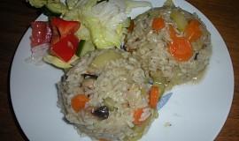 Dušená zelenina s rýží