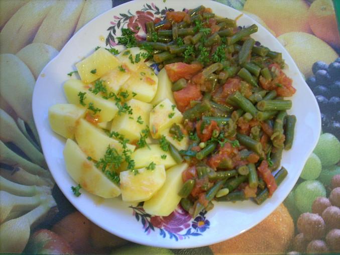 Fazolky s rajčaty