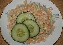 Fazolový salát s Lučinou