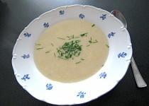 Krémová polévka z rybího filé