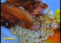 Kuře na čínské polévce