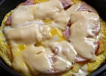 Omeleta ze zbylých kynutých knedlíků
