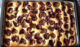 Rychlý litý koláč s ovocem