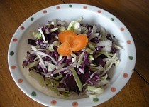 Salát ze sladkého zelí
