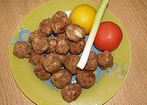 Smažené kuličky z mletého masa