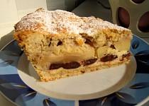 Švestkovo-jablkový koláč