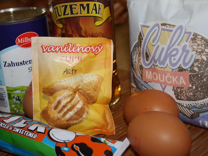 Vaječný koňak, ...suroviny...