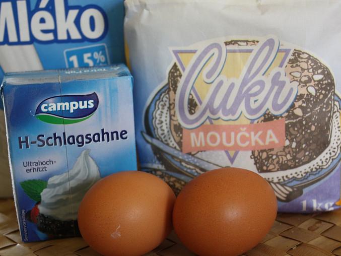 Vaječný koňak 2, ...suroviny...