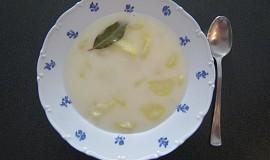 Bramborová sladko-kyselá polévka