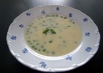 Hrášková polévka mléčná