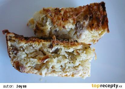 Krakonošův bramborákový nákyp