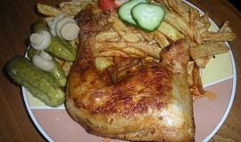 Kuře na černém pivu