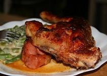 Marinované červené kuře