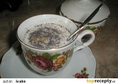 Mléko s příchutí kávy