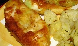 Patizon s cesnakovymi zemiakmi