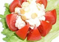 Rajčata plněná vaječnou pěnou
