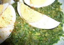 Salát ze špenátu