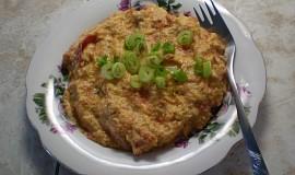 Vaječná smaženice s rajčaty