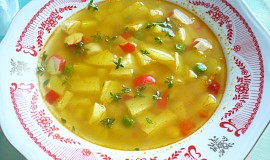 Barevná polévka