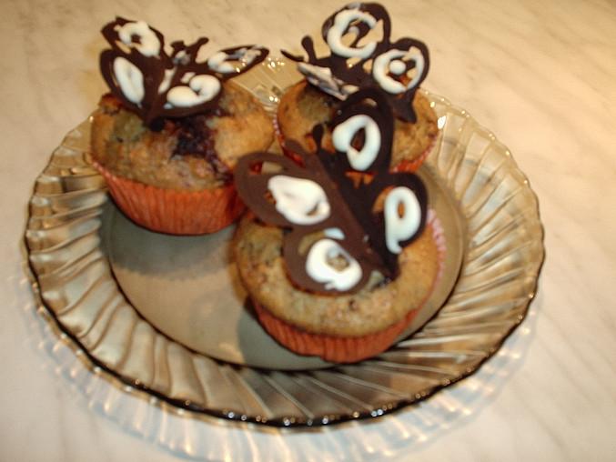 muffiny + zdobení od Dextry