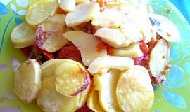 Česneková rajčata